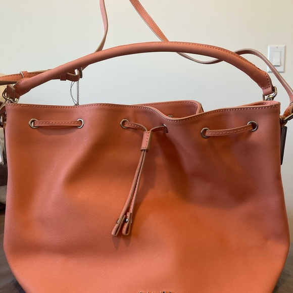 Calvin Klein Orange tote shoulder crossbody bag